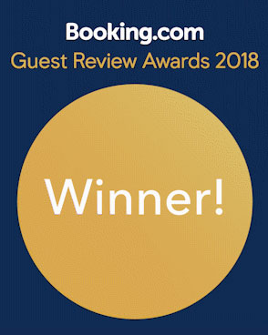 Booking.com Guest Review Awards 2018 Winner!