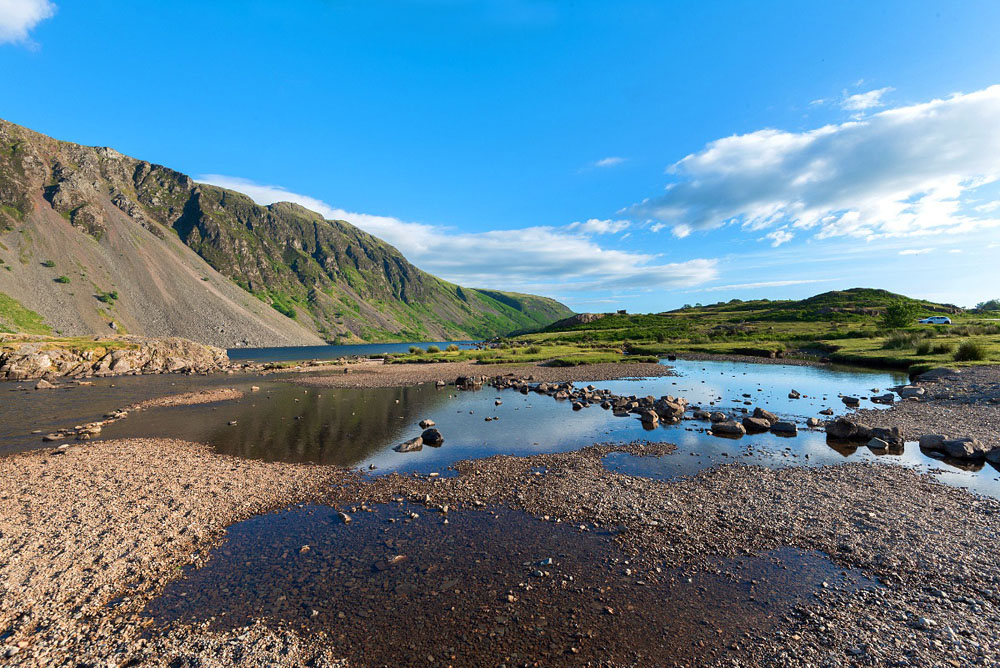 Wastwater Lake rock pools
