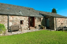 Hardknott Cottage from the garden