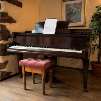 Wastwater Cottage Baby Grand Piano