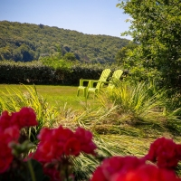 Many a stunning spot to relax in the expansive La Garenne Lawns