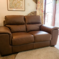 Luxury Italian Leather Sofa