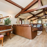 Wastwater Living Room with Baby Grand Piano