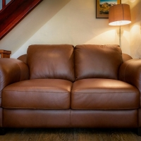 Wrynose Brand New Italian Leather Sofa